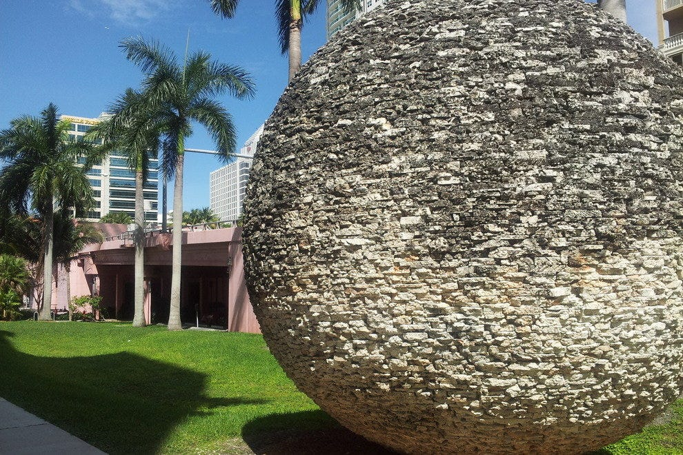 "Part of ""Accordant Zones"" by Barbara Neijna and Ned Smyth at Broward Judicial Complex"