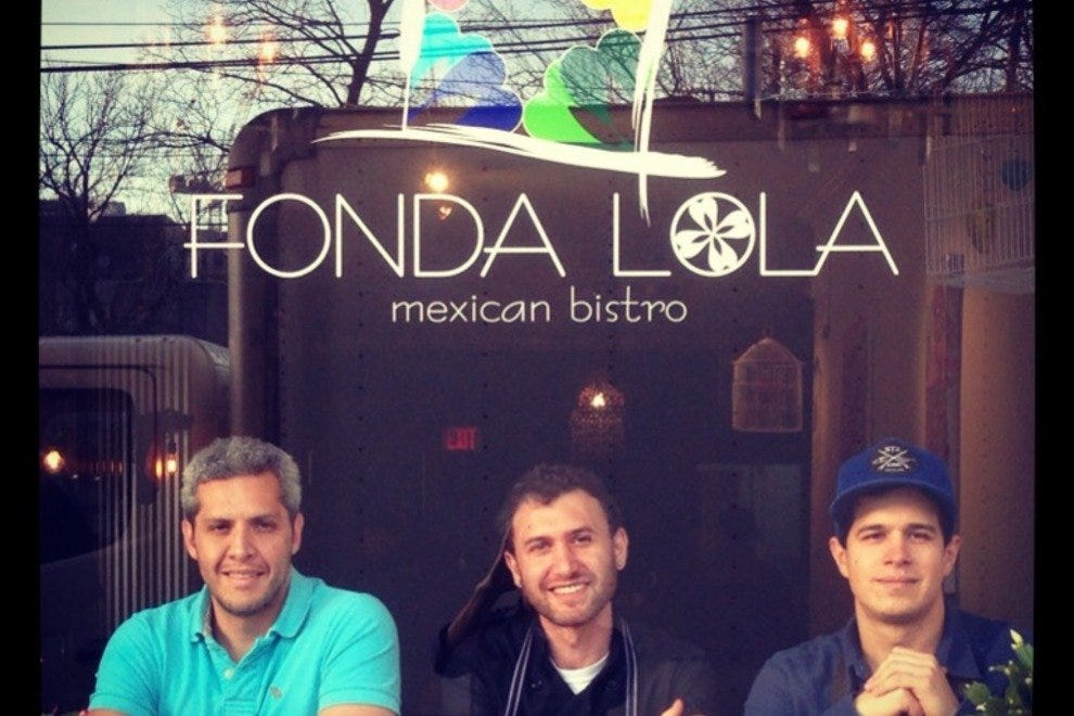 The team behind Fonda Lola