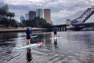 Tampa Offers an Abundance of Land and Water Fresh-Air Pursuits