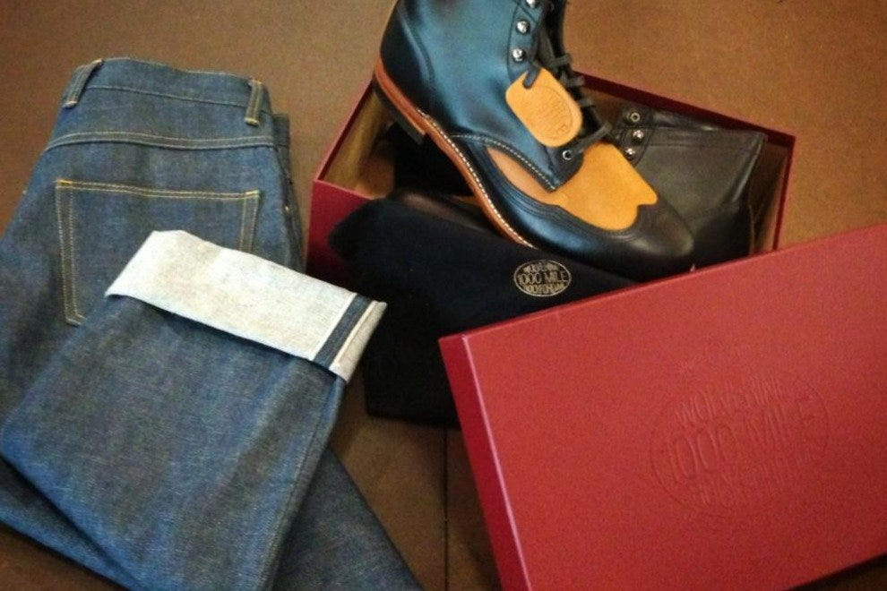 Lawless Denim is a new downtown Phoenix shop that specializes in made-to-order jeans.