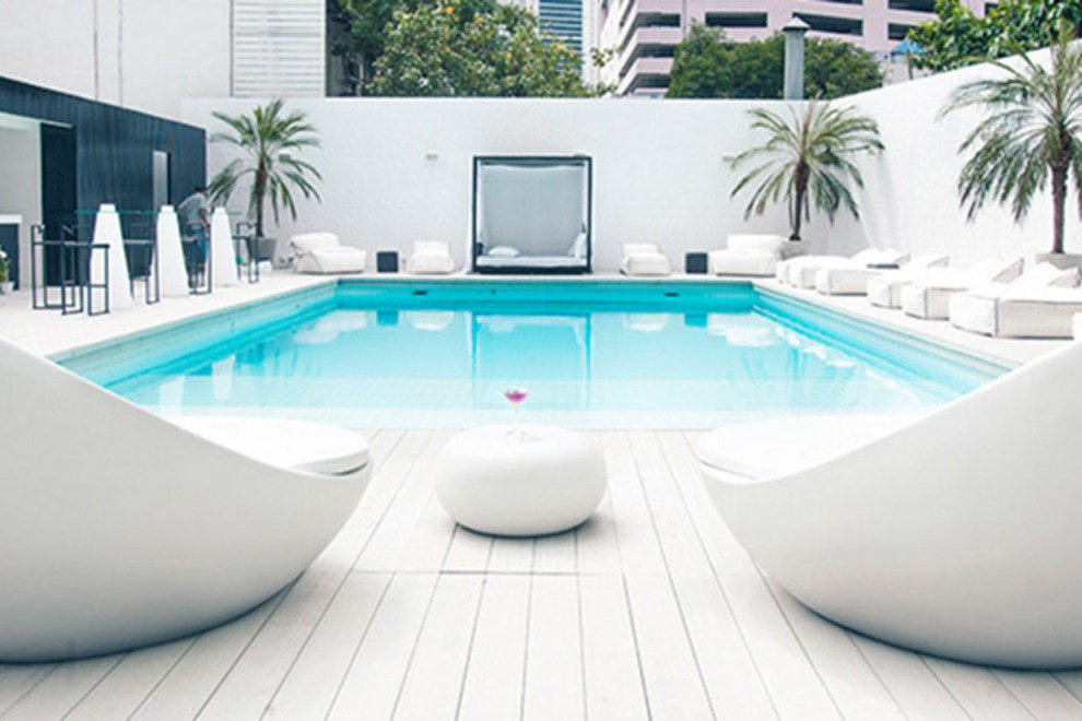 Poolside comfort at Ocean Bangkok