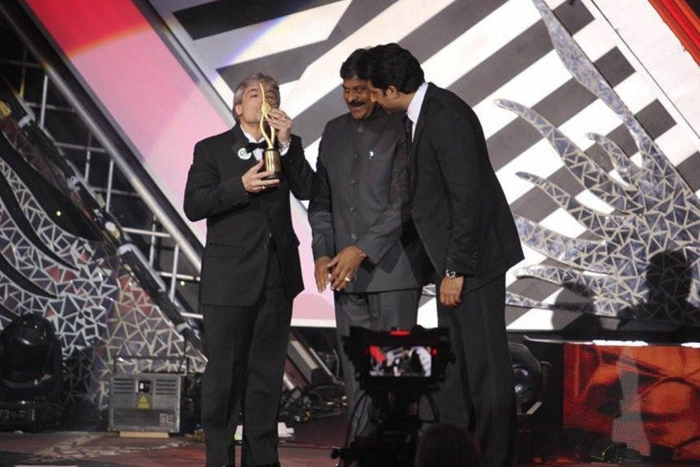 Tampa's very own Santiago Corrada - CEO and president of Visit Tampa Bay - was honored at IIFA Awards 2013 in Macau.