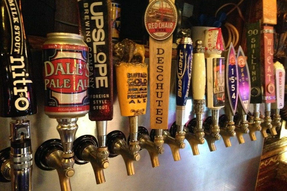 Dark Horse Bar and Grill's drinks on tap