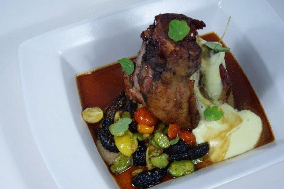 Cinnamon and Ginger Spiced Pork Osso Bucco