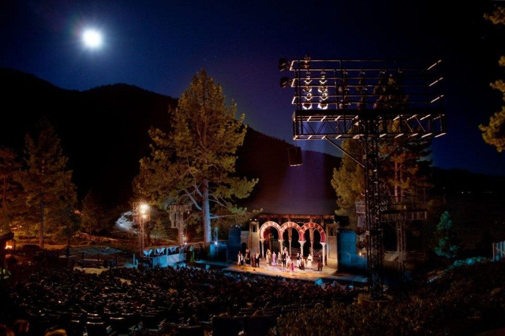 Lake Tahoe Shakespeare Festival at Sand Harbor