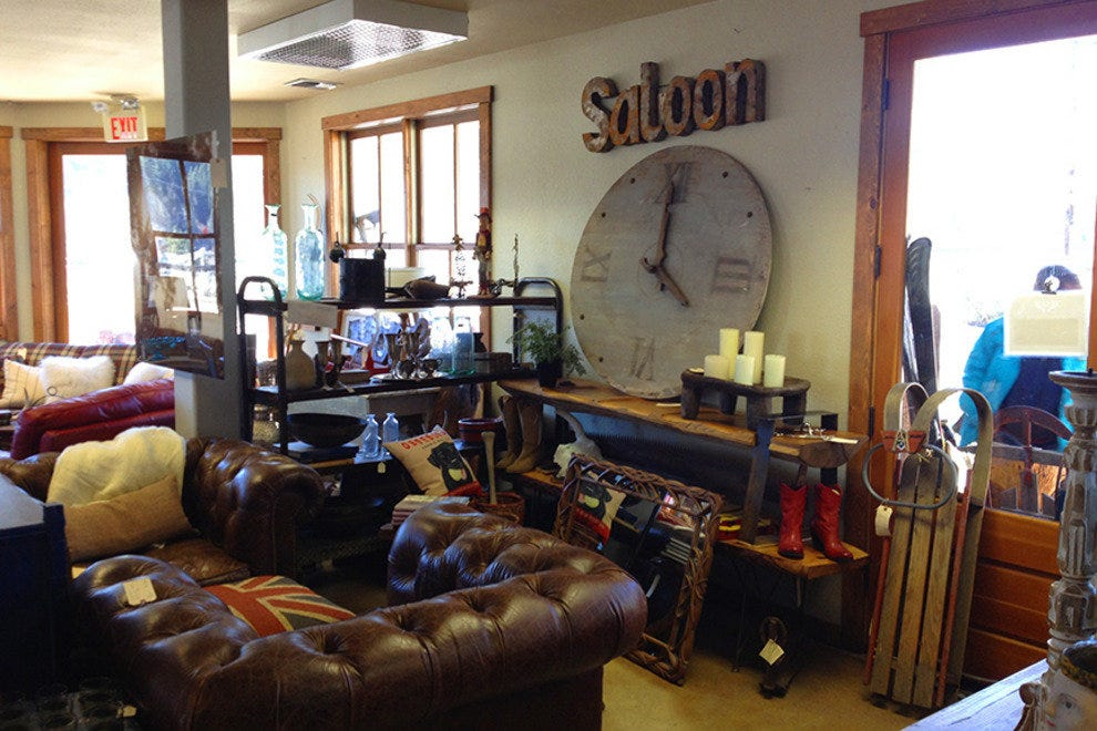 Mountain Loot sells cool, vintage items for the home.