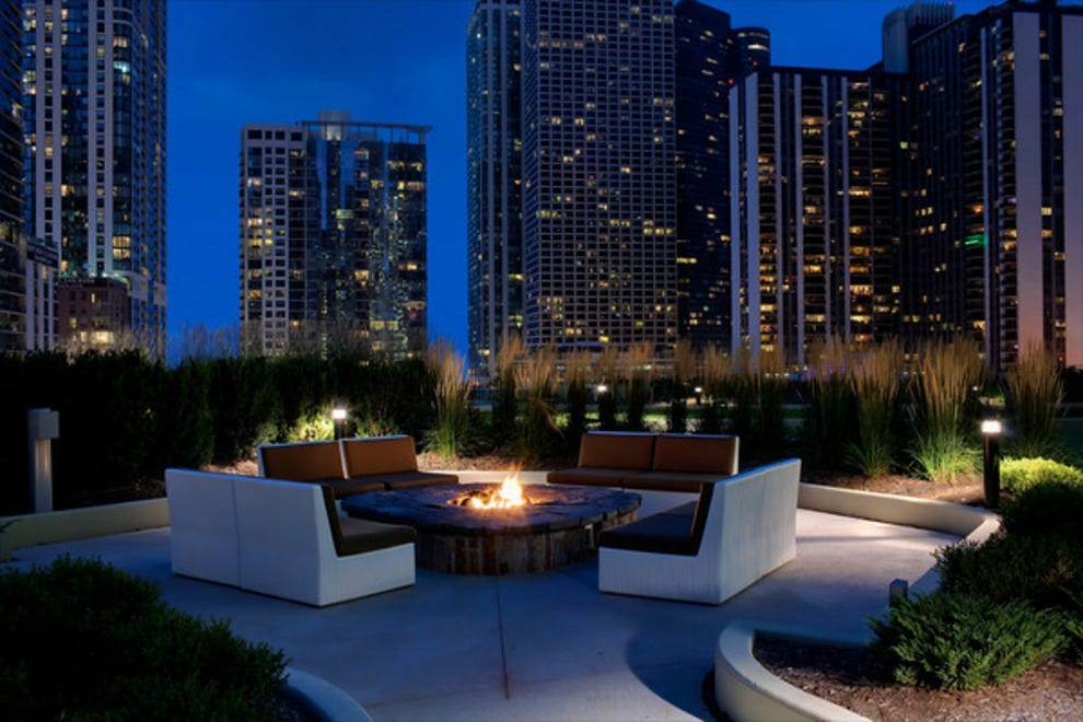 Radisson blu aqua hotel chicago chicago hotels review for Best hotel deals downtown chicago