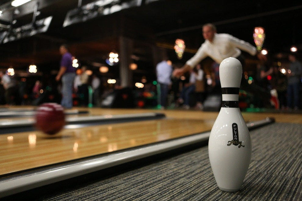 Fulton Alley brings hip bowling into focus.