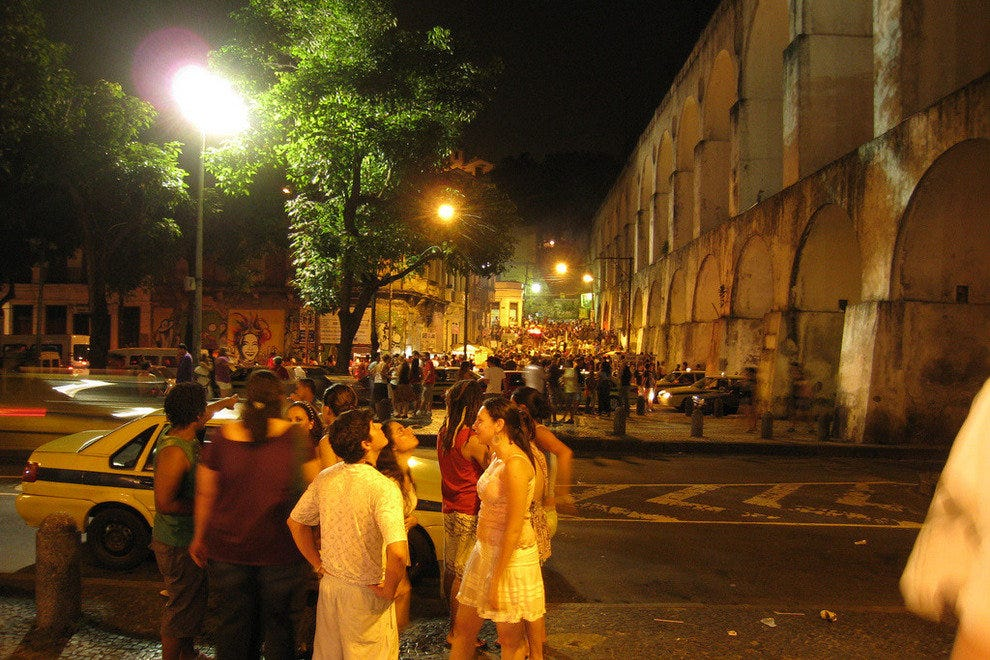 Lapa Hostel is just a couple of blocks from the famous Lapa street party.