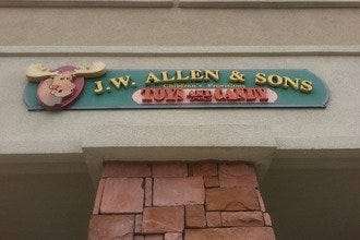 J.W. Allen & Sons Toys & Candy