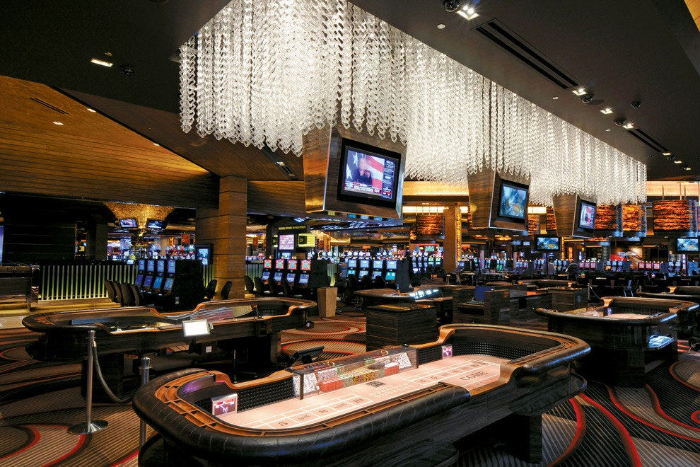 M resort casino & spa internet gambling ring