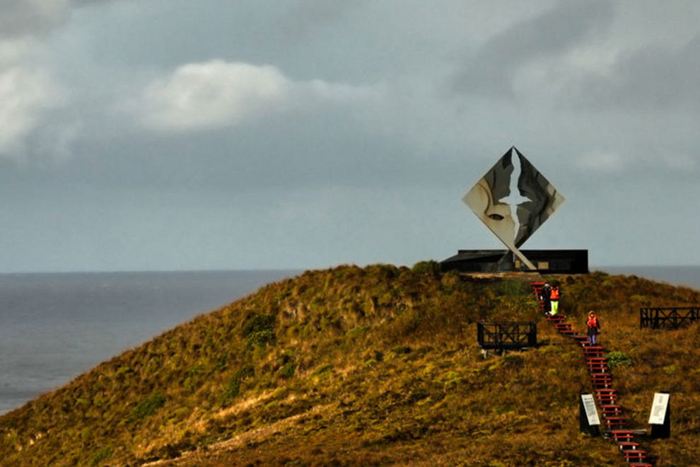 Landing on Cape Horn