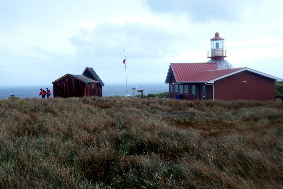 The lightouse at the end of the Earth