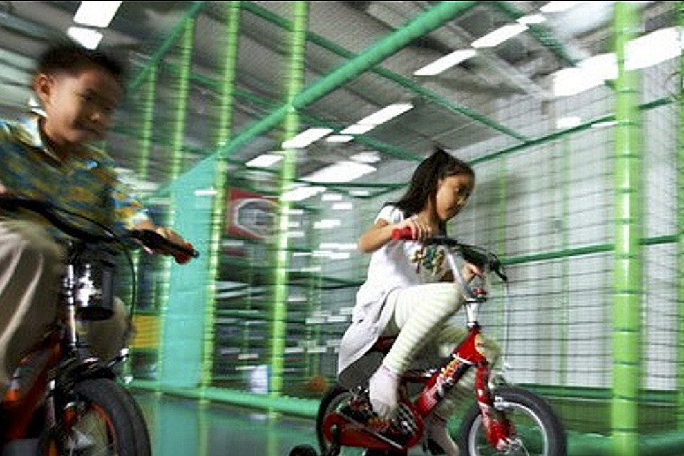 Racing at Funarium