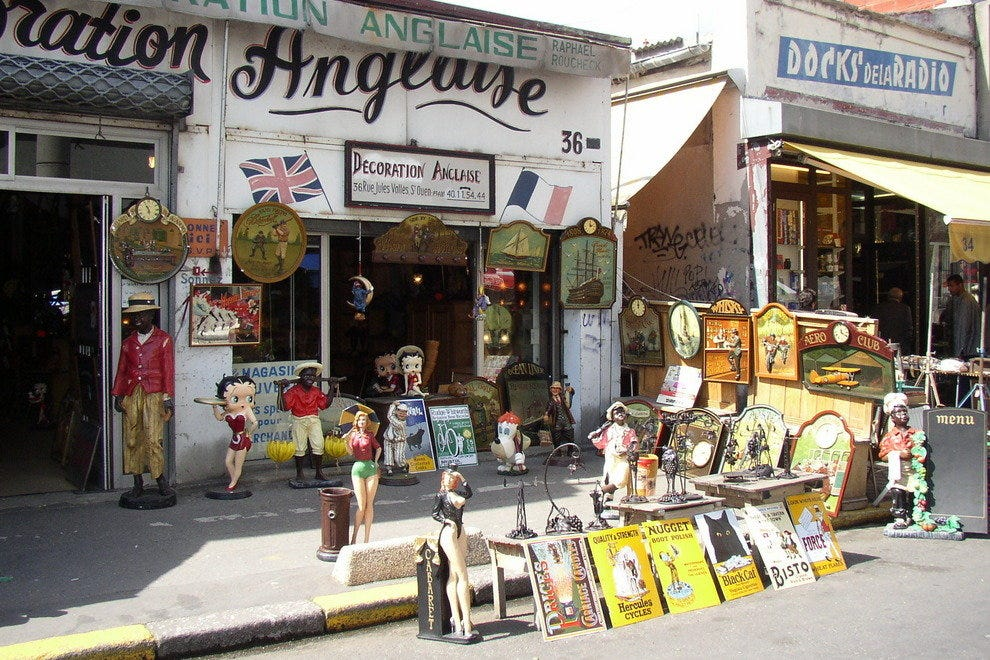 March aux puces de clignancourt paris shopping review 10best experts and tourist reviews - Puces porte de clignancourt ...