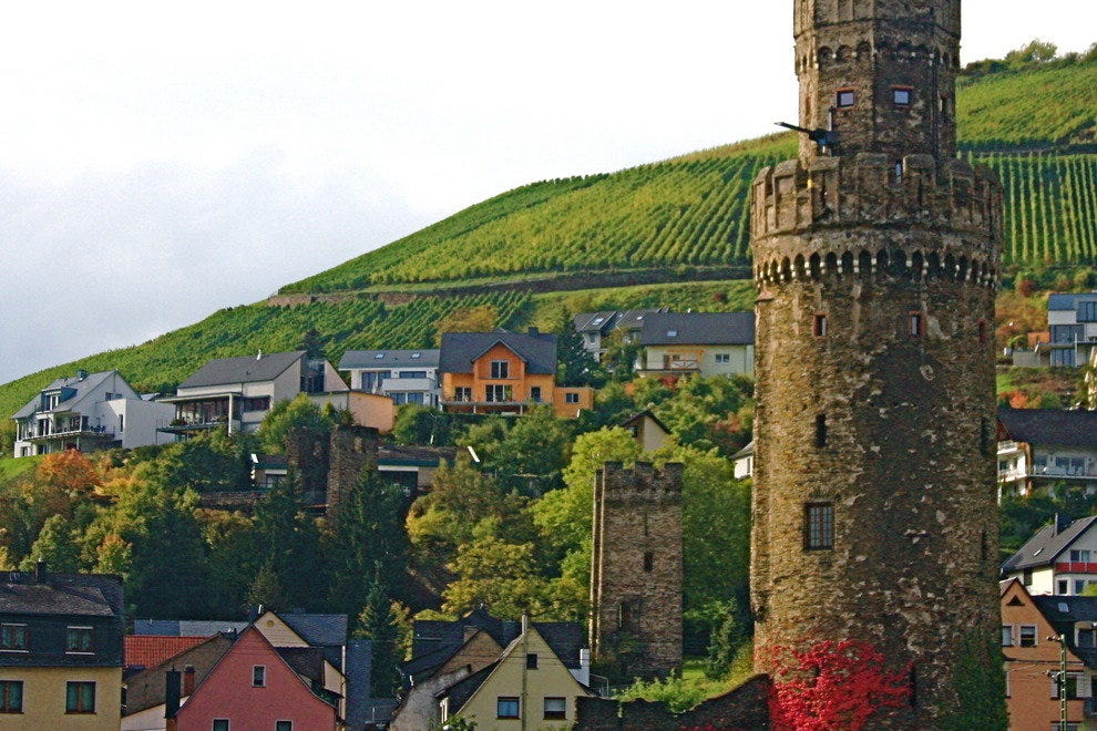 Castles along the Middle Rhine in Germany have been designated an UNESCO World Heritage site.