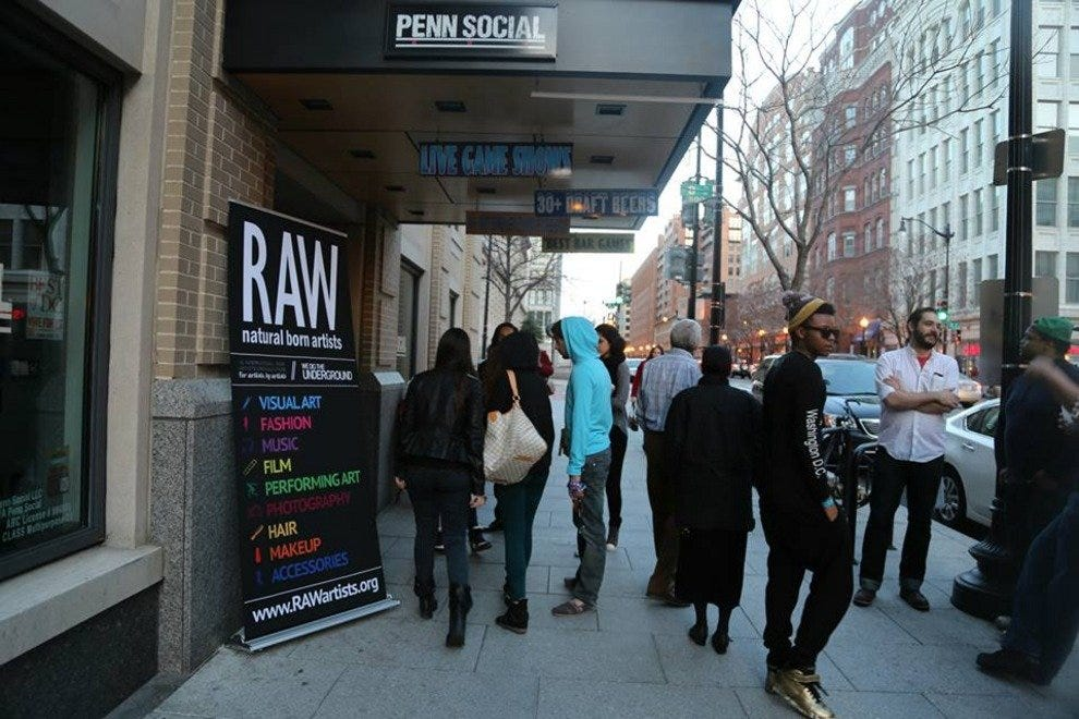 Art lovers head to Penn Social for a RAW show.