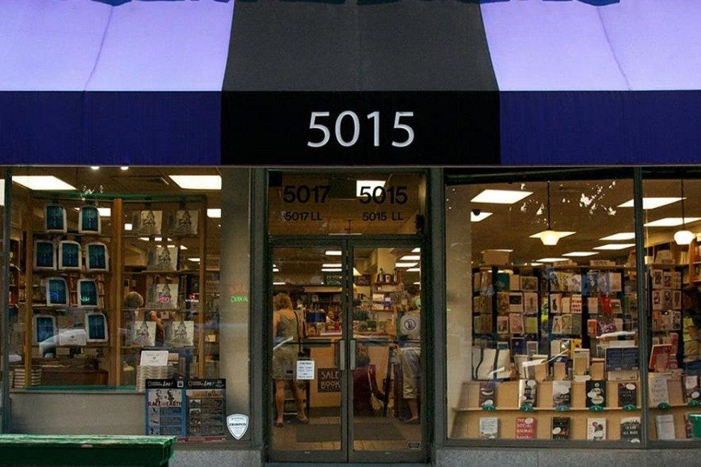 Politics and Prose is one of the District's indie-book stalwarts.