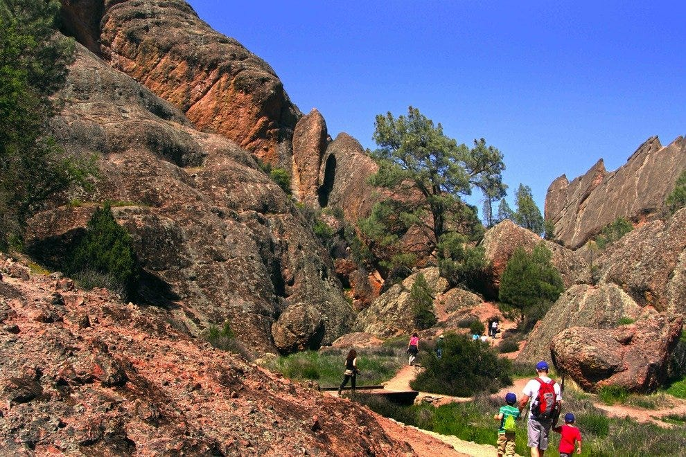 Hike the Dramatic Trails of Pinnacles National Park