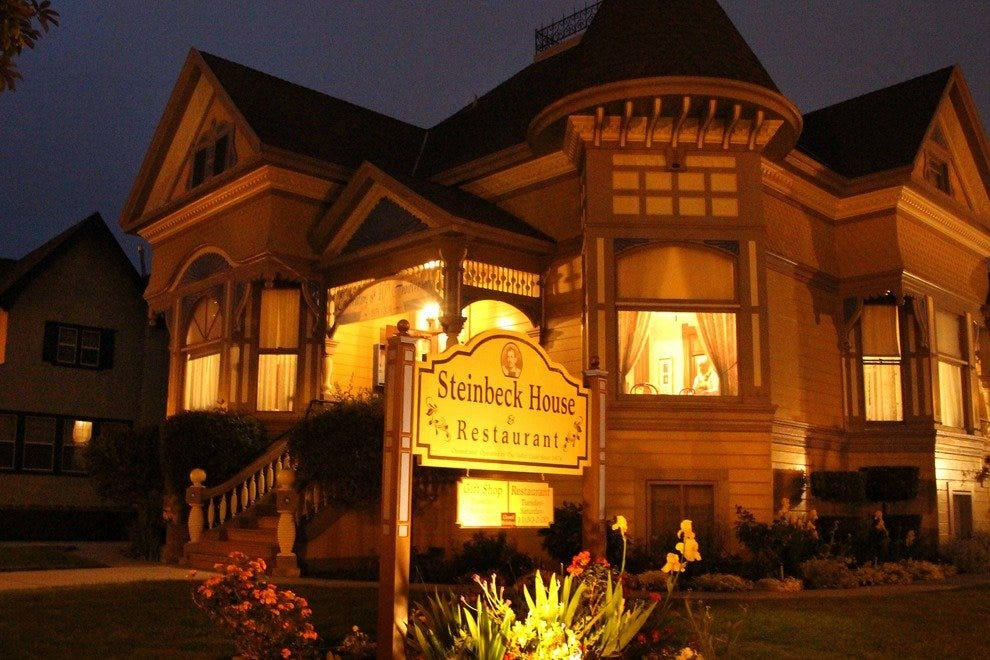 Dine in History: the Steinbeck House
