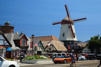 Take a Scenic Drive through California's Windmills and Wine Country