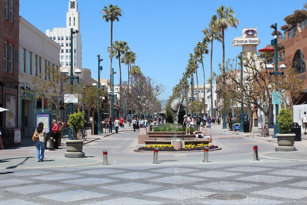 Best Restaurants Promenade Santa Monica