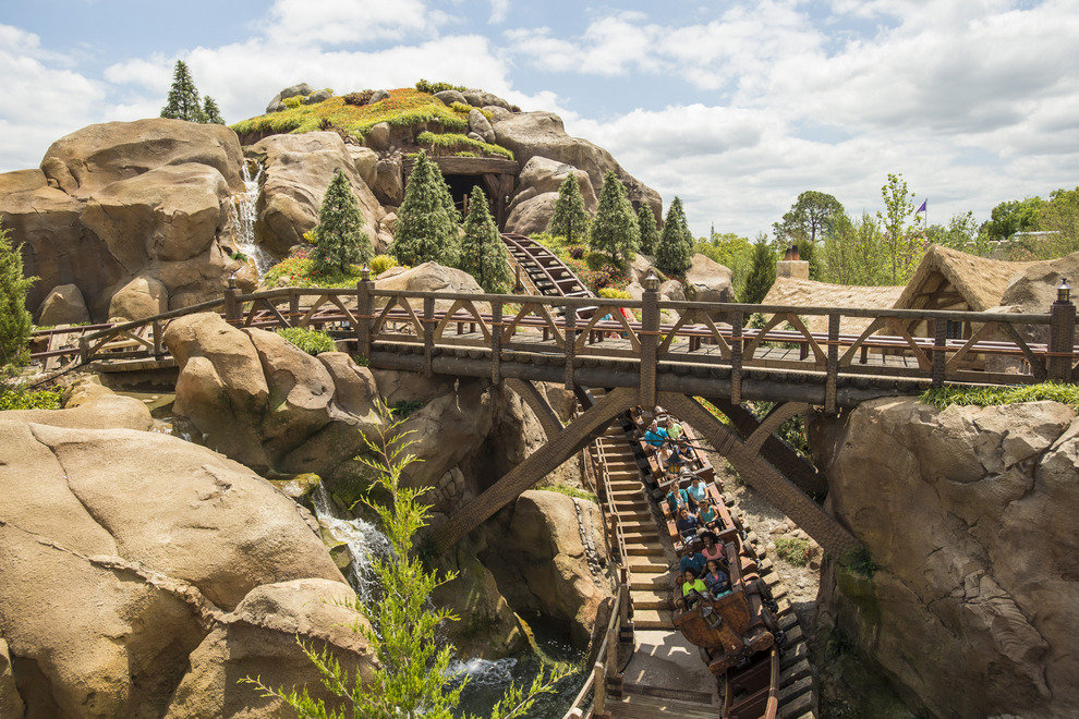 Dips, turns and some inspiring views of the park delight riders on the Magic Kingdom's newest coaster