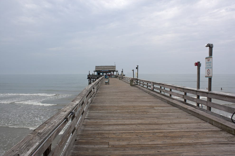 Space coast outdoor activities 10best outdoors reviews for Cocoa beach pier fishing
