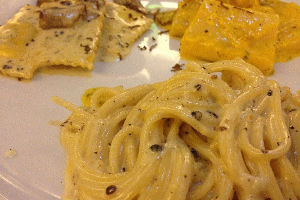 Pasta dishes are a specialty at I Maroncio