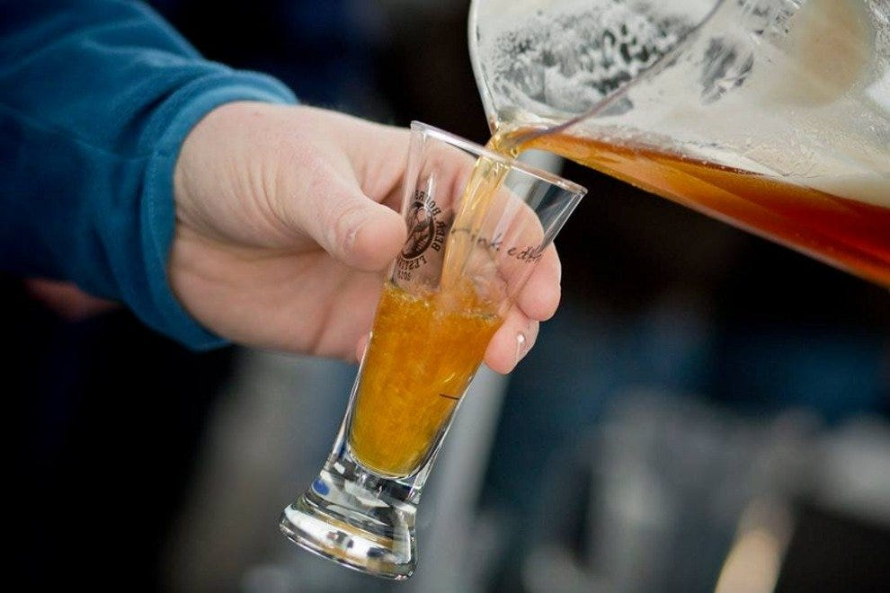 Enjoy some of the country's finest brews at this two-day festival