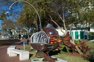 Tampa's Rustic Steel Creations Transforms Junk into Art