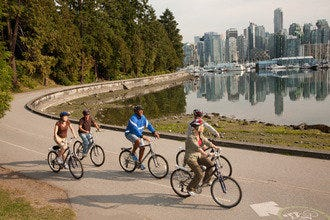 Bike Vancouver: Enjoy an Urban Adventure on a Half-Day Ride