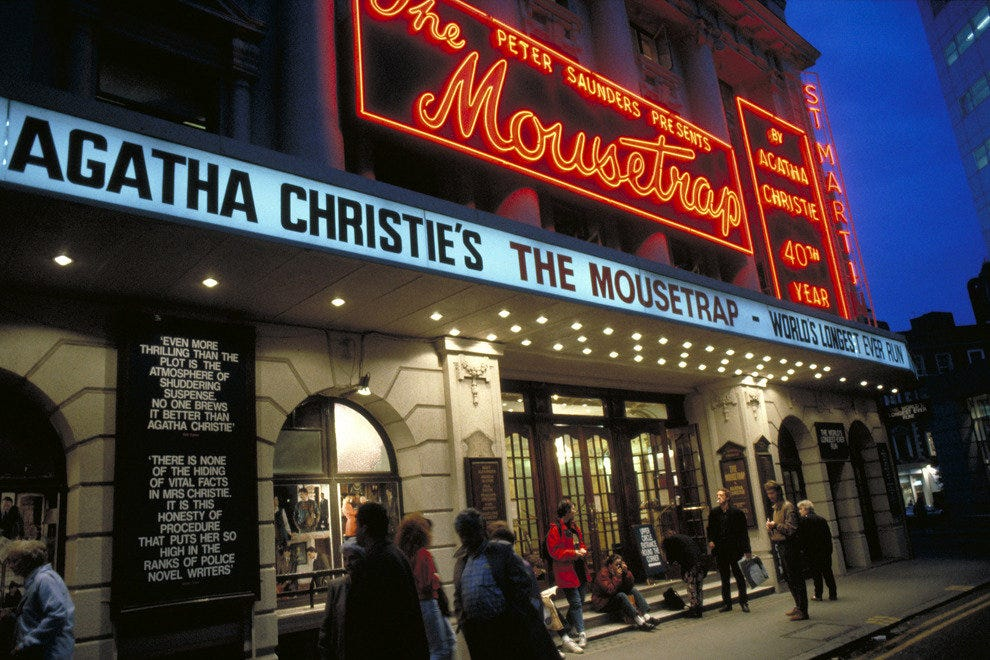 London's West End is the Mecca for international theater lovers.
