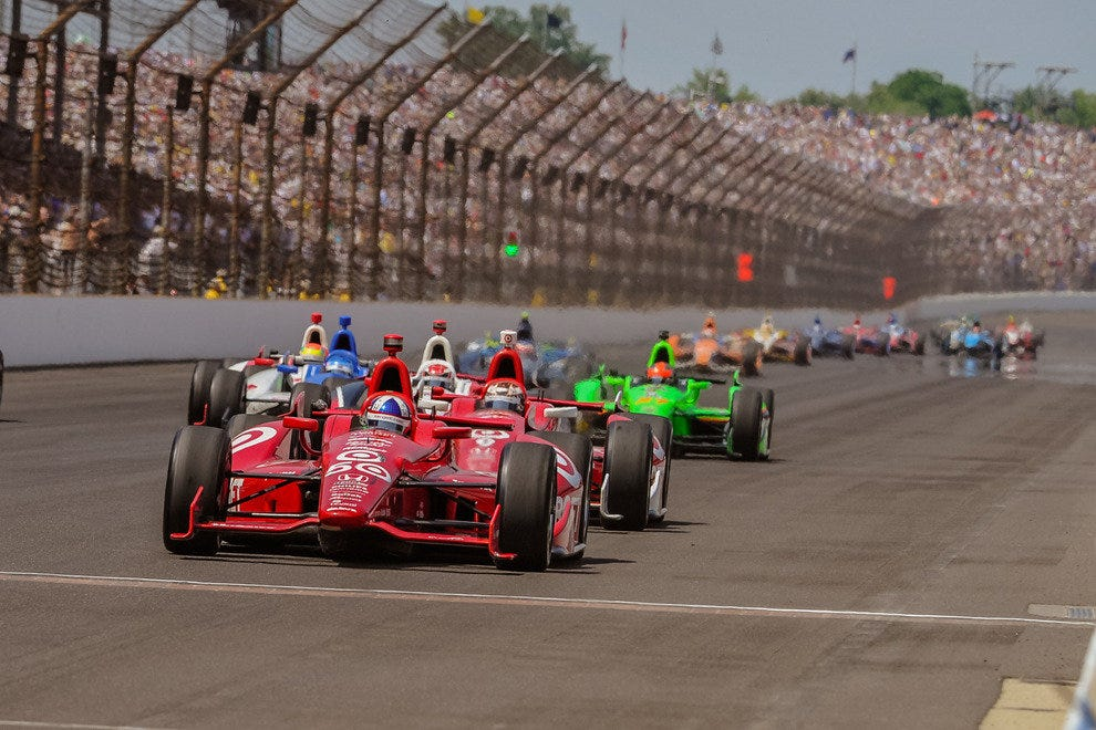 10 Closest Finishes at the Indianapolis 500