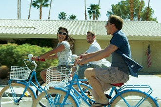 Enjoy a Sunny Bicycle Ride through Palm Springs