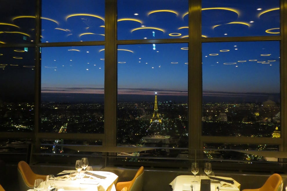 Ciel de paris bar a champagne paris nightlife review 10best experts and to - Le ciel de paris restaurant ...