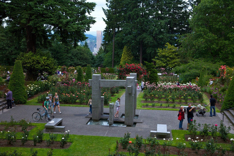 International Rose Test Garden – Portland, Ore.
