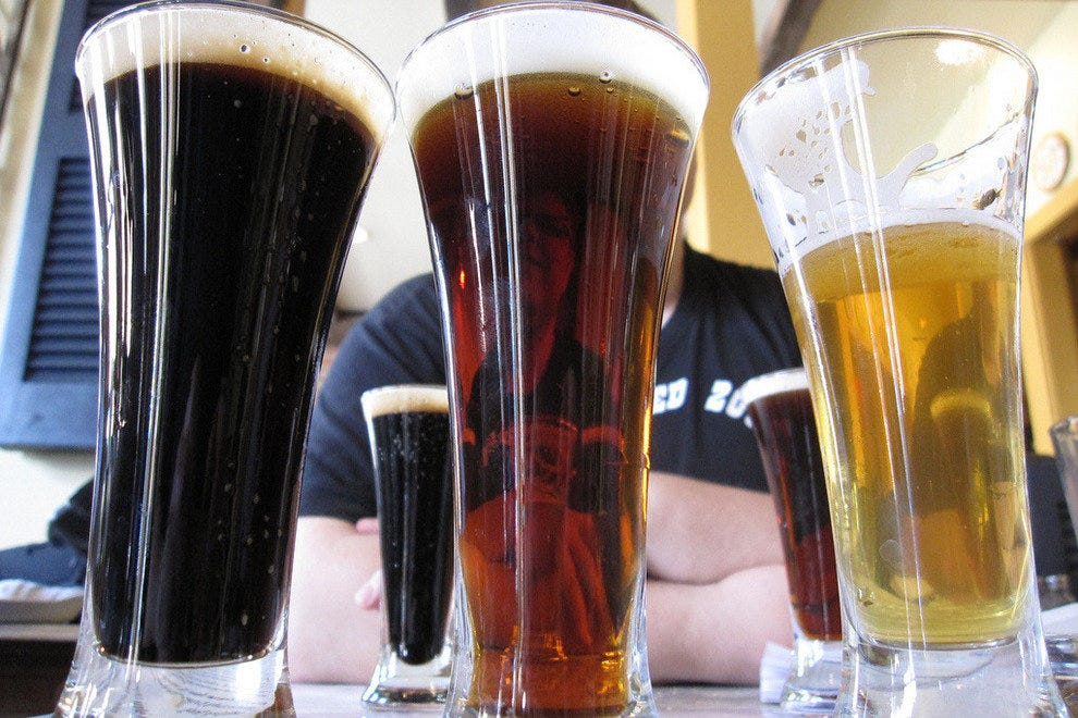Blast off! Flights of beer abound at this fest