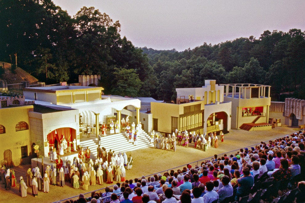 The passion play has played out against the Ozarks since 1968