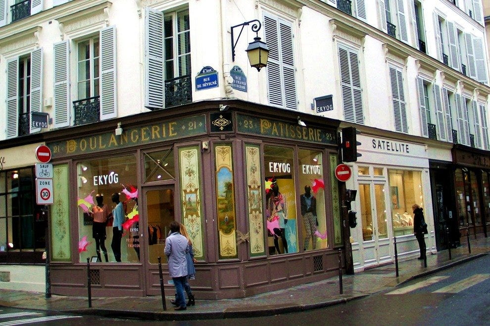 Parisians clothing store