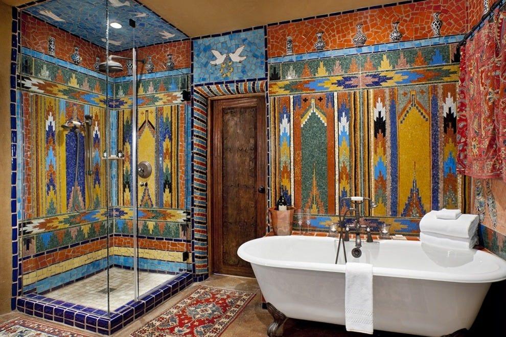 Inn of the five graces santa fe hotels review 10best for Santa fe style bathroom ideas