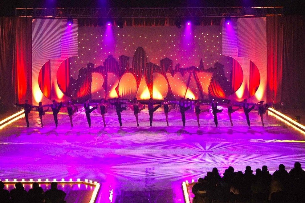 Broadway on Ice will bring a little bit of winter to Cancun