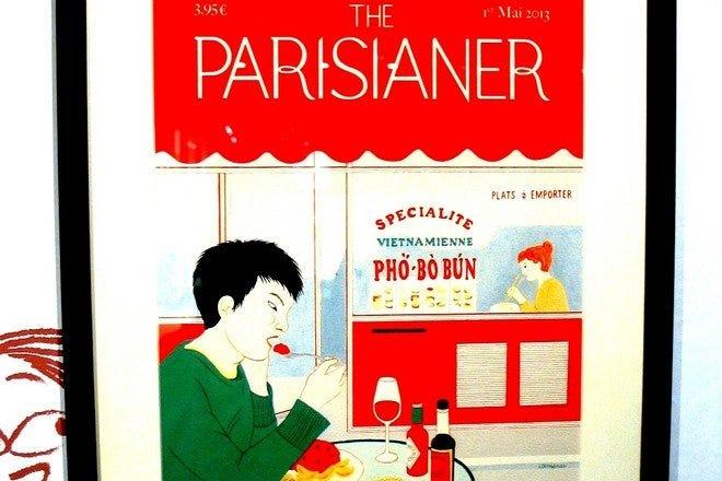 Asian in Paris