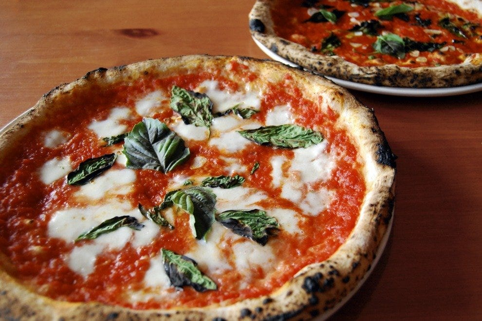 Margherita never looked so delicious