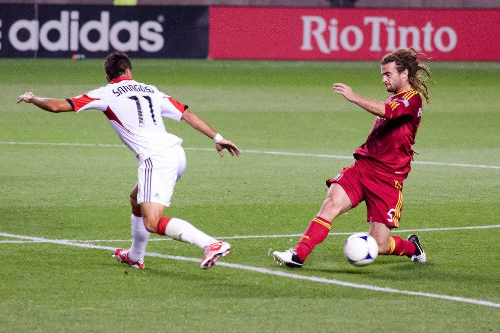 Kyle Beckerman of Real Salt Lake