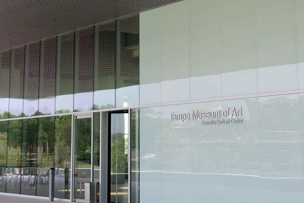 坦帕艺术博物馆是一个炎热夏日的空调绿洲。
