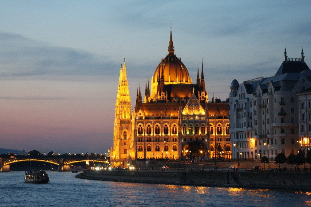 On a Viking River cruise, seeing Budapest sparkle at night is real magic