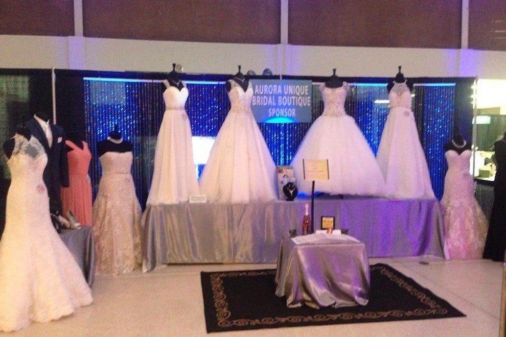 奥罗拉独特的新娘精品店