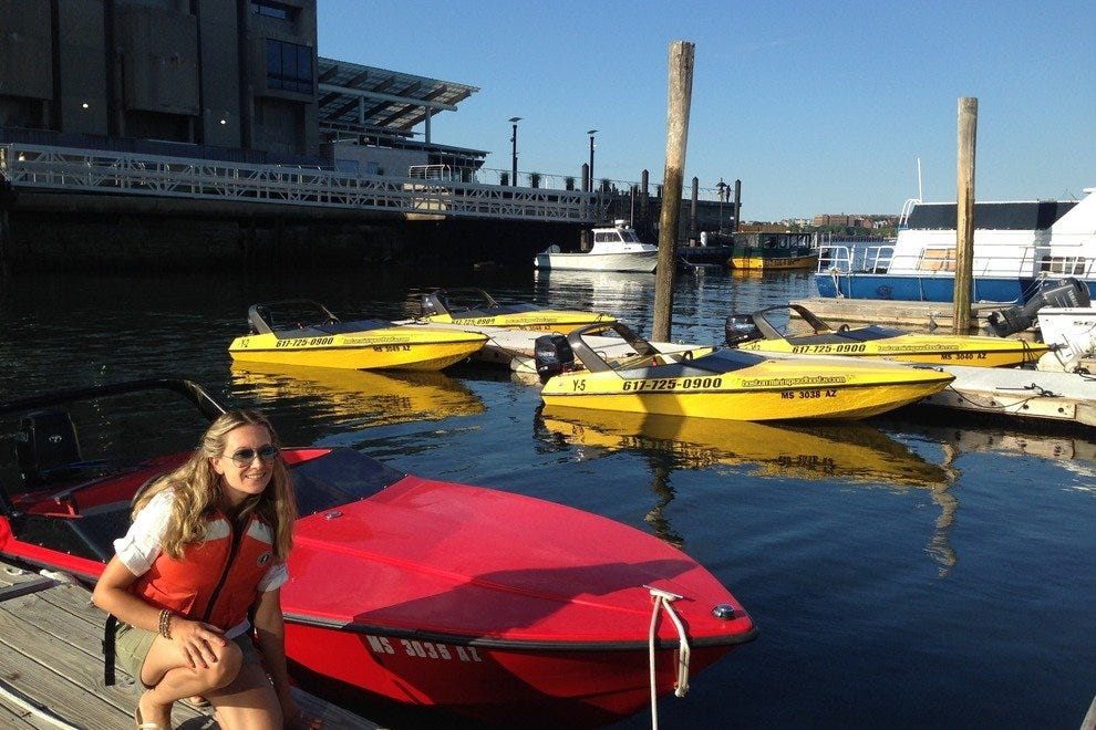 Boston Mini Speedboats