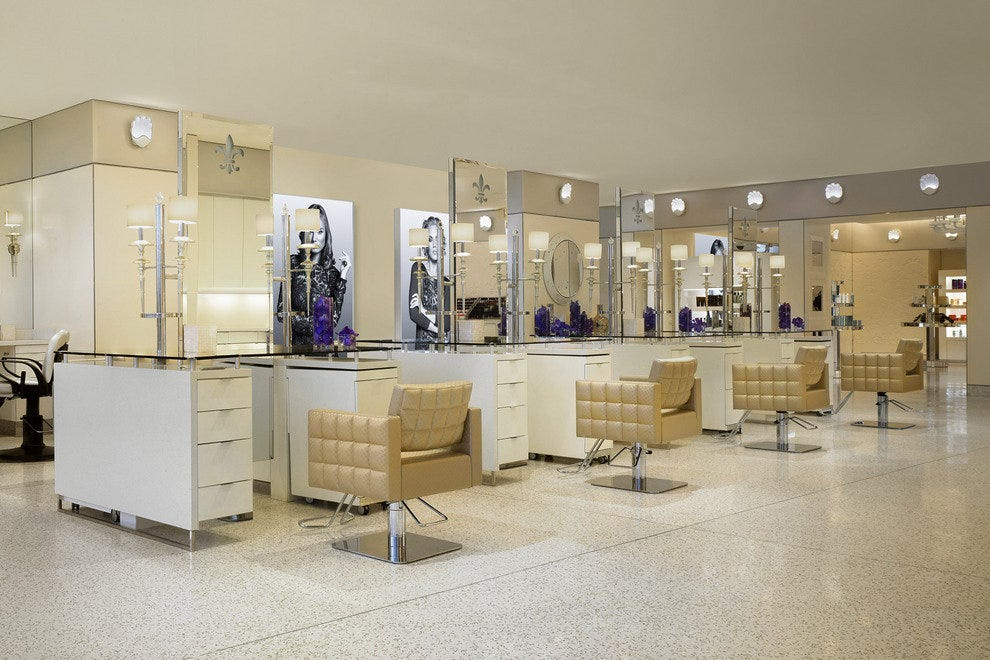 the claude baruk salon where the runway meets the strip